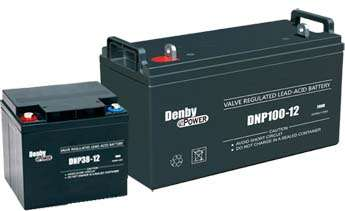 丹能铅酸免维护蓄电池